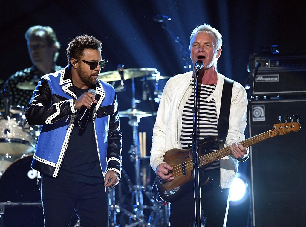 Shaggy, Sting, 2018 Grammy Awards, Performances