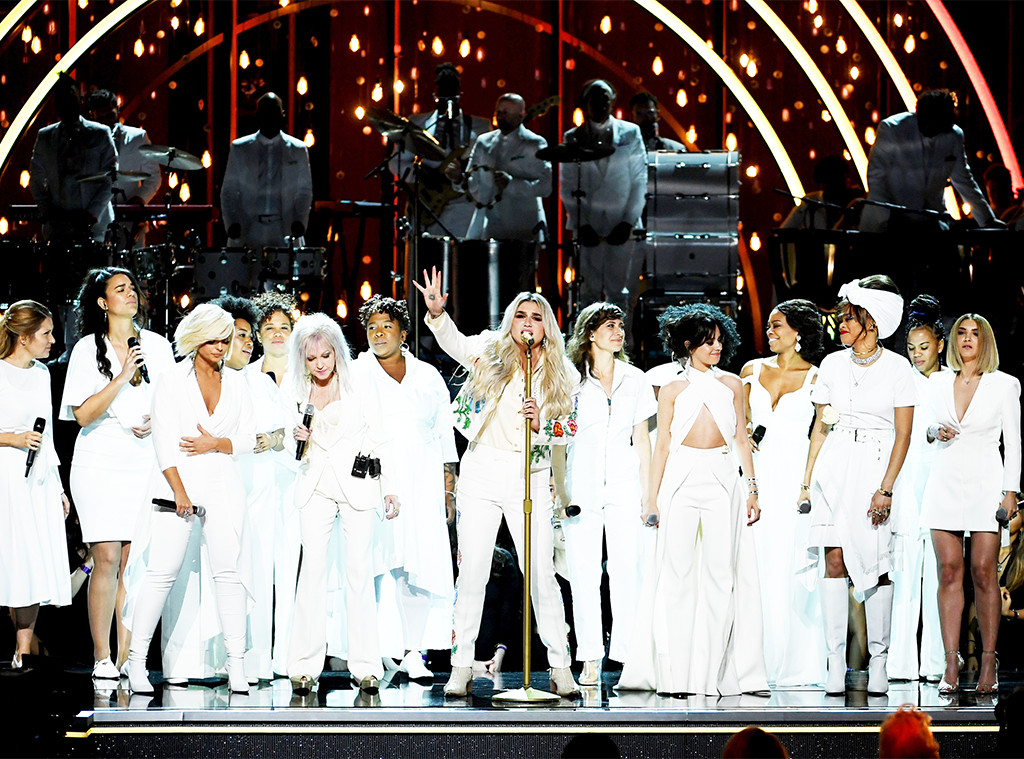 Grammys 2016, These Stars stand on the stage Pop star Lady Gaga