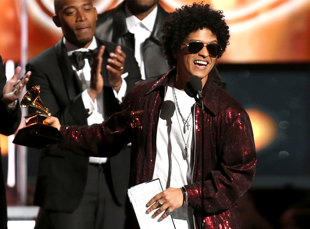 Bruno Mars, 2018 Grammy Awards, Winners