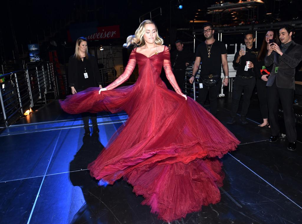 Miley Cyrus, Grammys, 2018, Grammys 2018, Candids