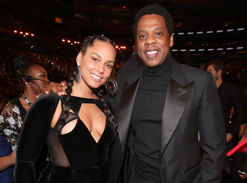 Alicia Keys, Jay-Z, 2018 Grammy Awards, Candids