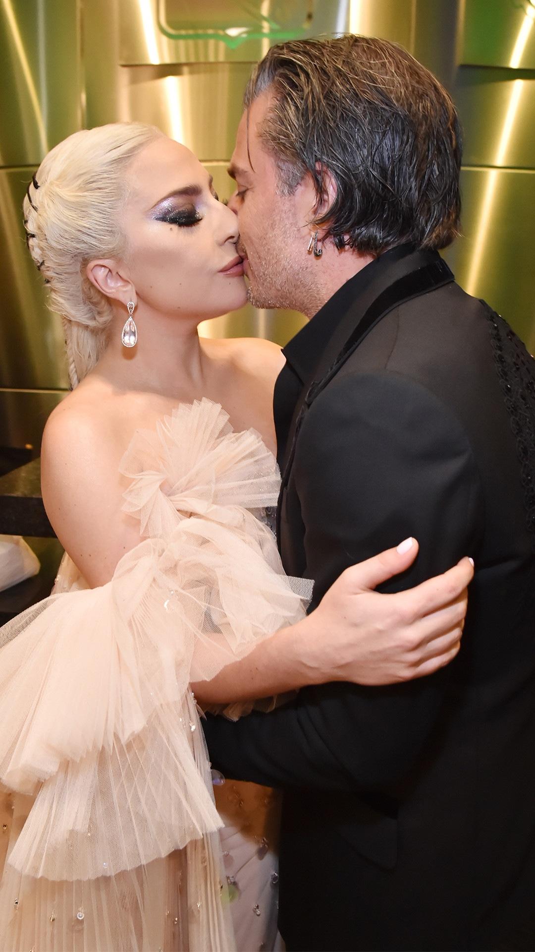 Lady Gaga, Christian Carino, 2018 Grammy Awards, Candids