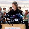 Angelina Holie, Refugees
