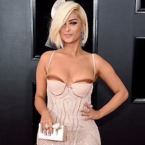 Bebe Rexha, 2018 Grammy Awards, Red Carpet Fashions