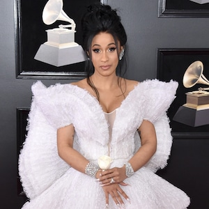 Cardi B, 2018 Grammy Awards, Red Carpet Fashions