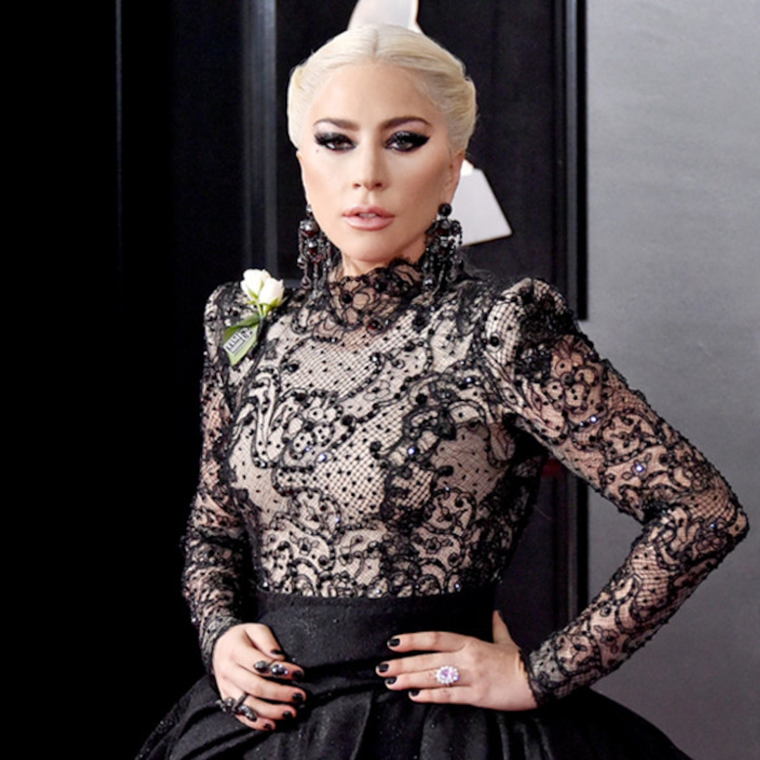 5 things you didn t know about lady gaga s grammy awards 2018 style e online grammy awards 2018 style