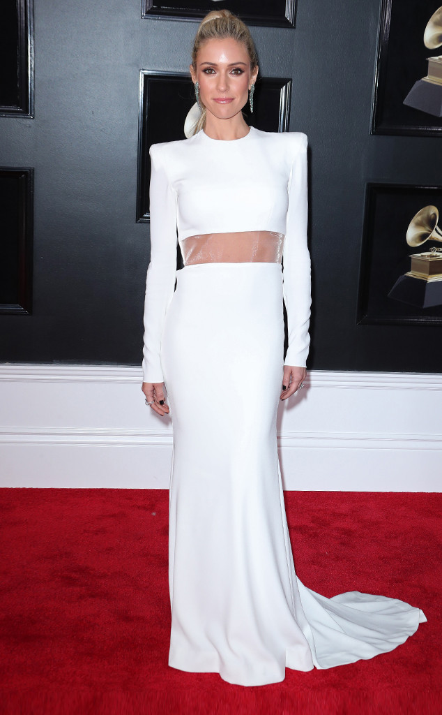 Kristin Cavallari, 2018 Grammy Awards, Red Carpet Fashions