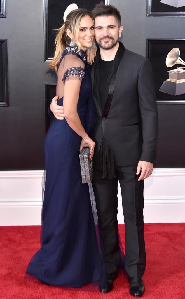 Karen Martínez, Juanes, 2018 Grammy Awards, Couples