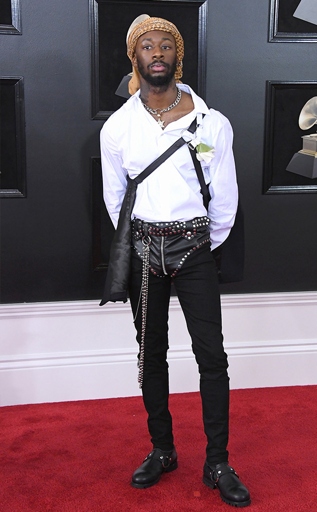 GoldLink, 2018 Grammy Awards, Red Carpet Fashions