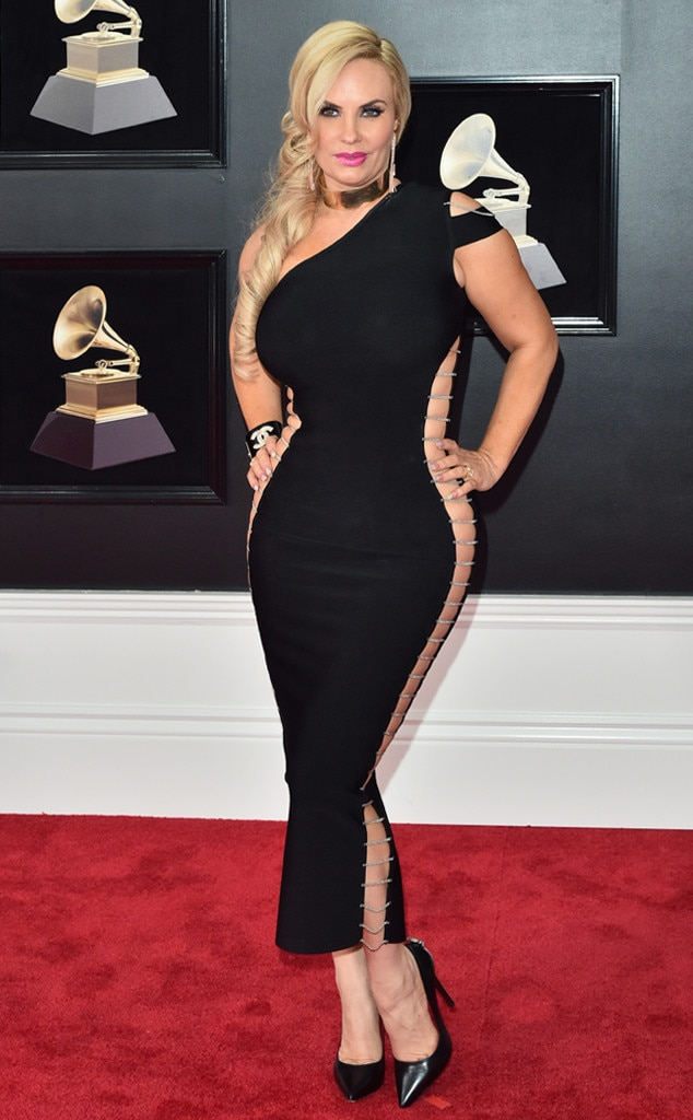 Coco Austin From 2018 Grammys Red Carpet Fashion E News