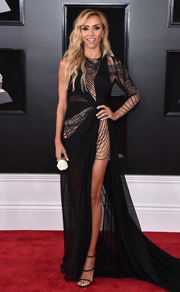 Giuliana Rancic From 2018 Grammys Red Carpet Fashion E News