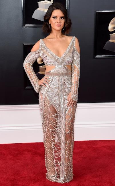 Maren Morris, 2018 Grammy Awards, Red Carpet Fashions