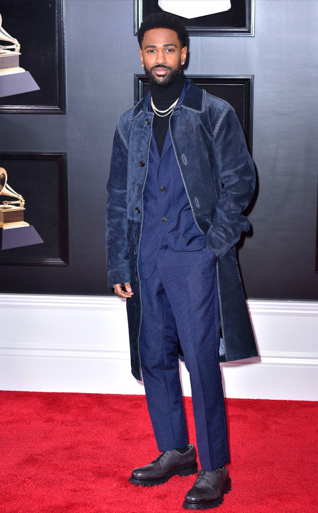 Big Sean, 2018 Grammy Awards, Red Carpet Fashions