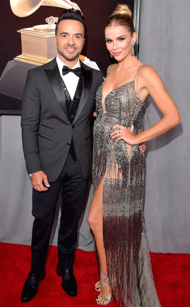 Luis Fonsi, Agueda Lopez, 2018 Grammy Awards, Couples