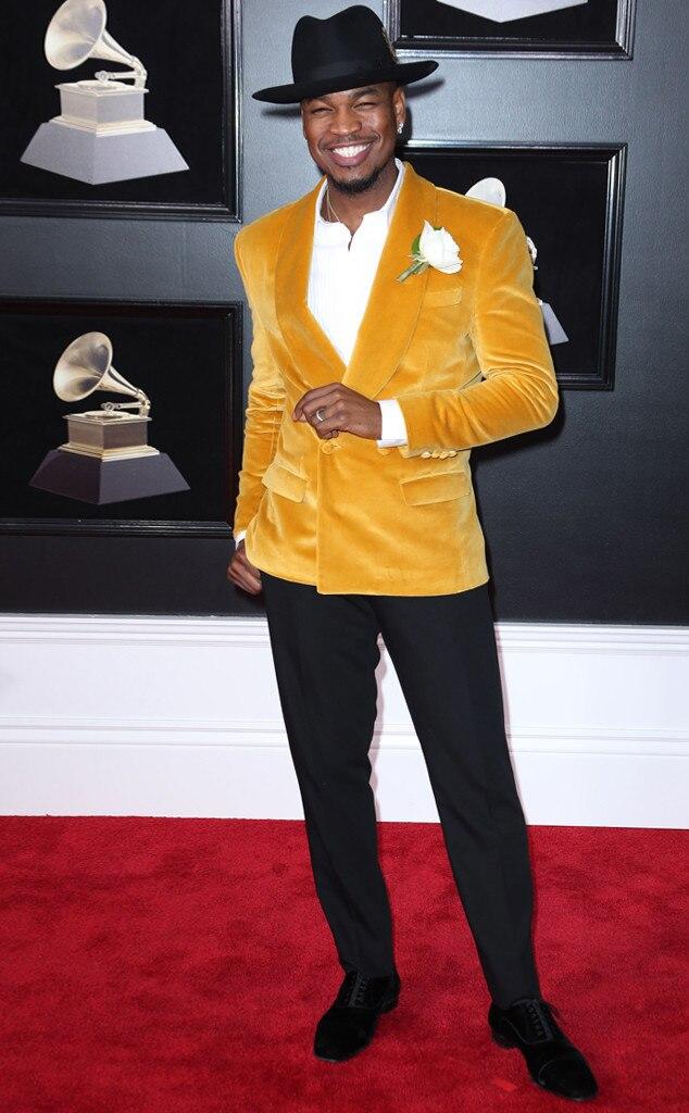 Ne Yo From Stars Who Wore White Roses To Grammys 2018 E
