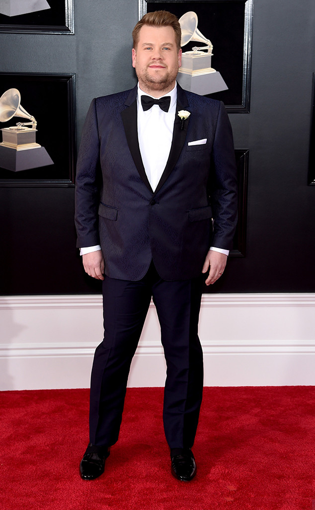 James Corden, 2018 Grammy Awards, Red Carpet Fashions