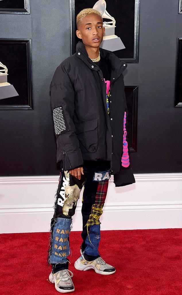 Jaden Smith, 2018 Grammy Awards, Red Carpet Fashions