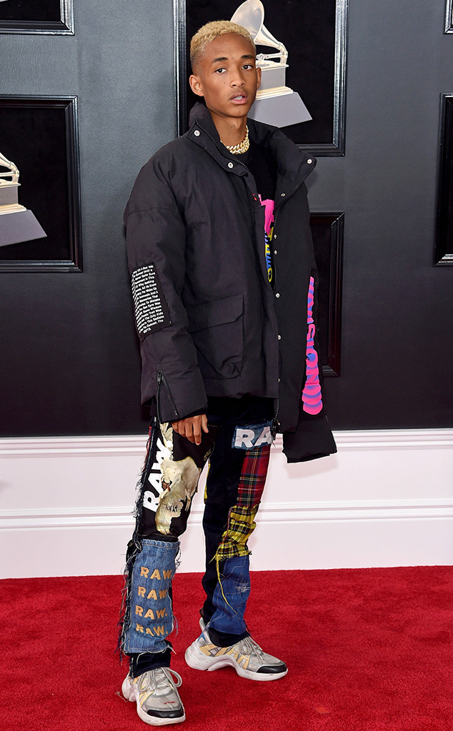 Jaden Smith, 2018 Grammy Awards, Red Carpet Fashions