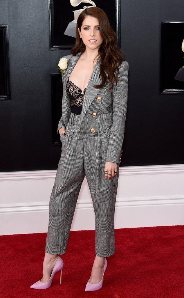 Anna Kendrick, 2018 Grammy Awards, Red Carpet Fashions