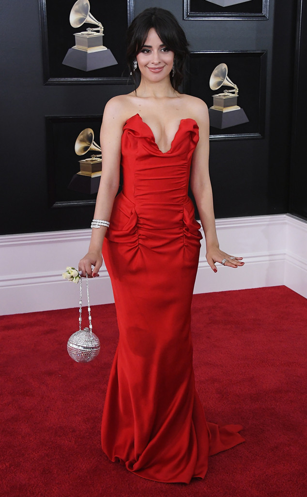 Camila Cabello, 2018 Grammy Awards, Red Carpet Fashions