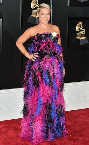 Pink, 2018 Grammy Awards, Red Carpet Fashions