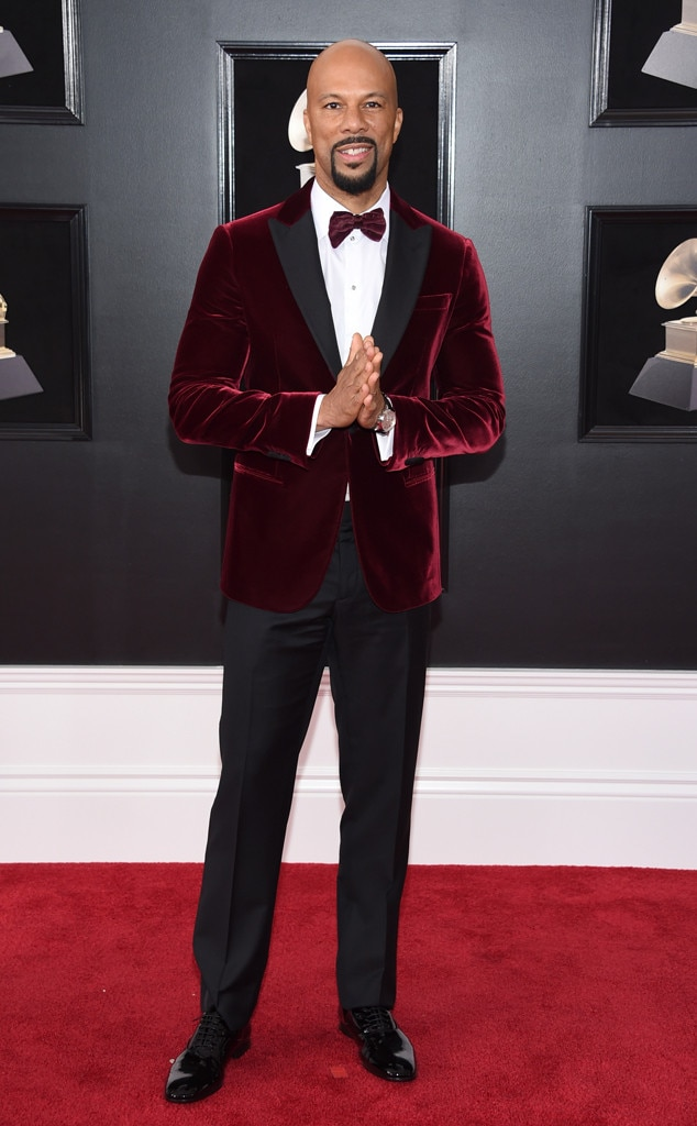 Common, 2018 Grammy Awards, Red Carpet Fashions