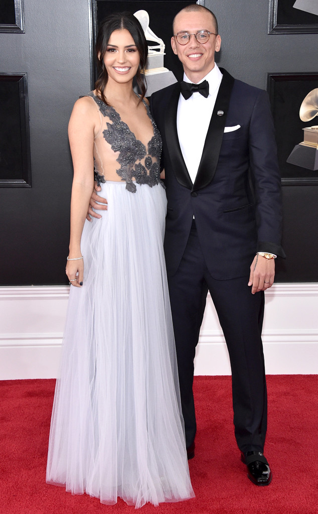 Jessica Andrea, Logic, 2018 Grammy Awards, Couples