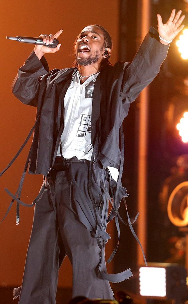 Kendrick Lamar, 2018 Grammy Awards, Performances