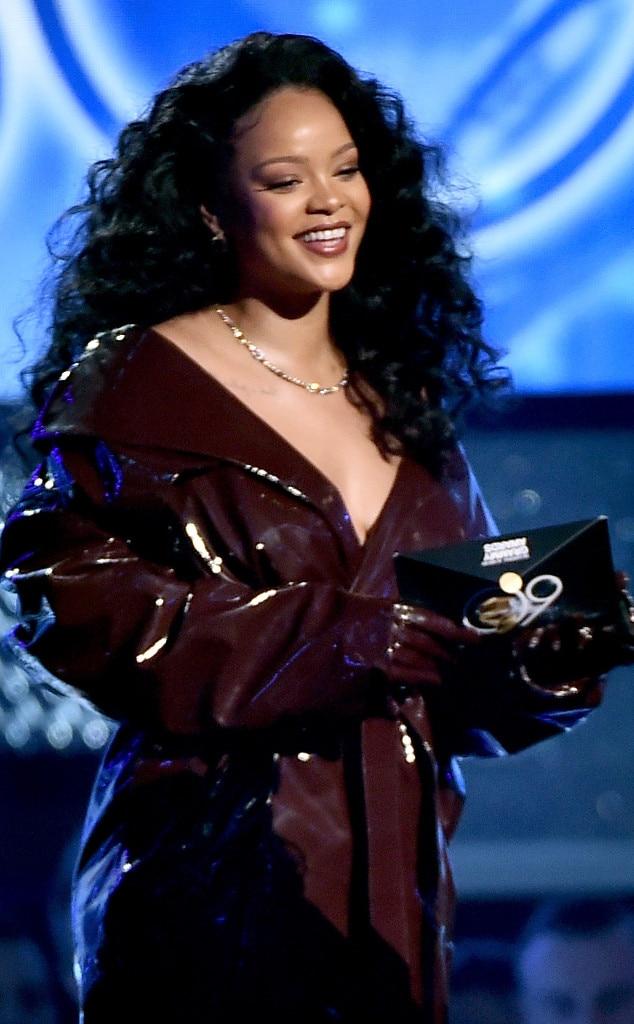 Rihanna in latex