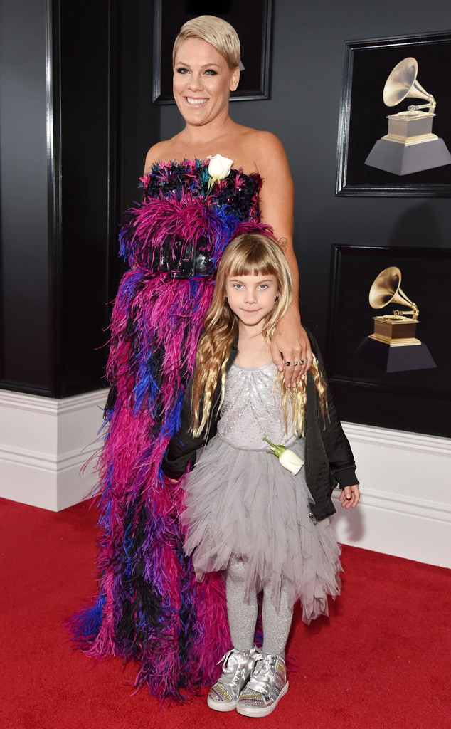 Pink, Willow Sage Hart, 2018 Grammy Awards