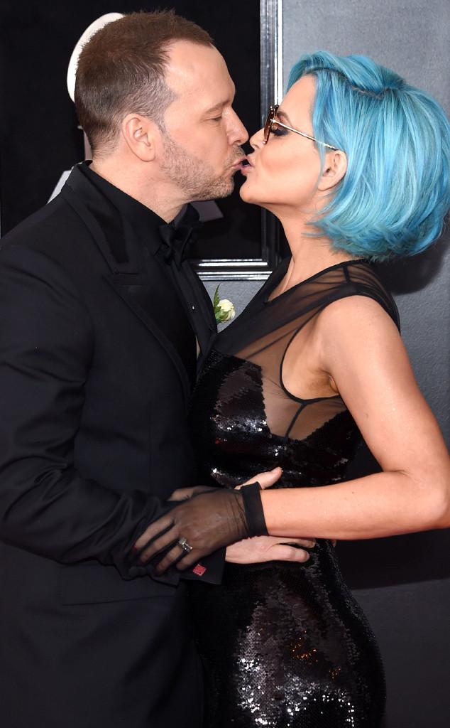 Donnie Wahlberg, Jenny McCarthy, 2018 Grammy Awards, Candids