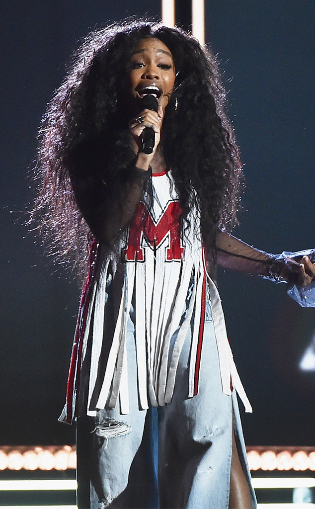 SZA, 2018 Grammy Awards, Performances