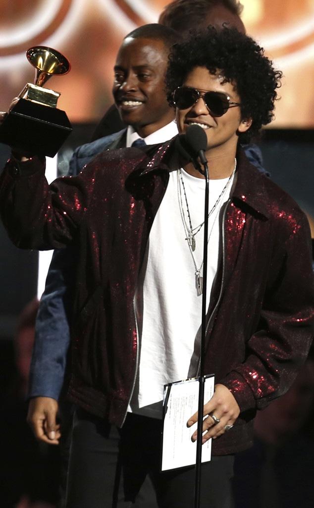 Bruno Mars, Song of the Year, 2018 Grammy Awards, Winners, 2018 Grammys, 2018, Winner