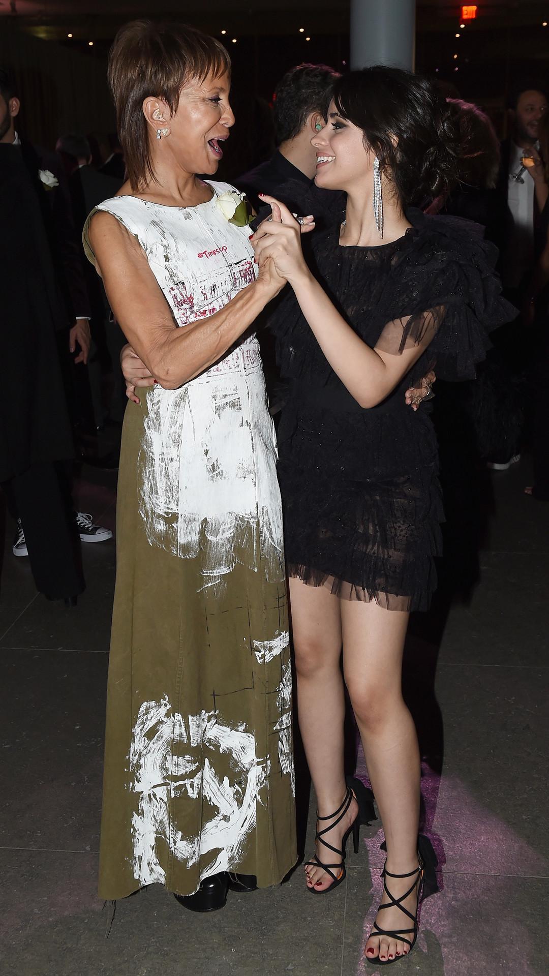 Sylvia Rhone, Camila Cabello, 2018 Grammy Awards, Party Pics