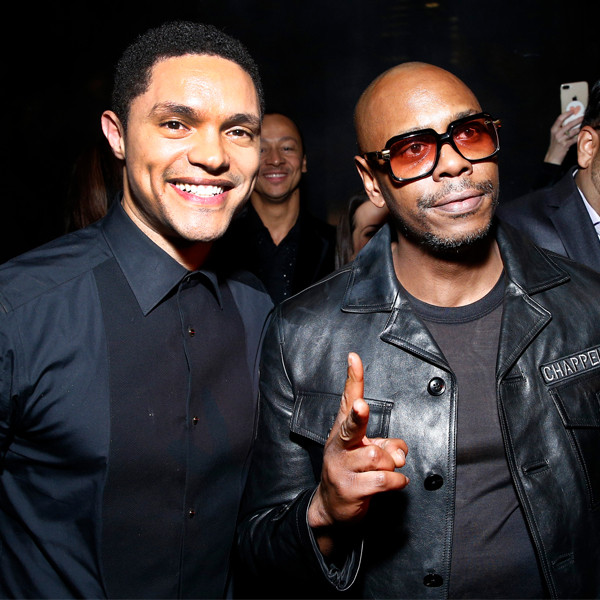 Trevor Noah, Dave Chapplle, 2018 Grammy Awards, Party Pics