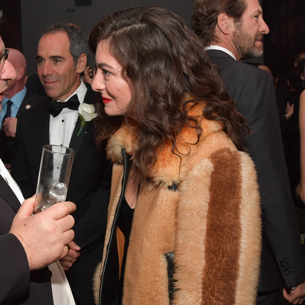 Sir Lucian Grainge, Lorde, 2018 Grammy Awards, Party Pics