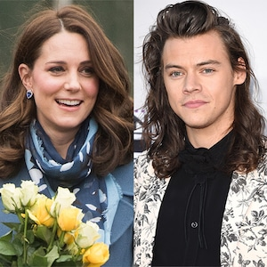 Kate Middleton, Harry Styles