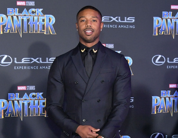 bda83fc6f81 Michael B. Jordan from Black Panther's Hollywood Premiere | E! News