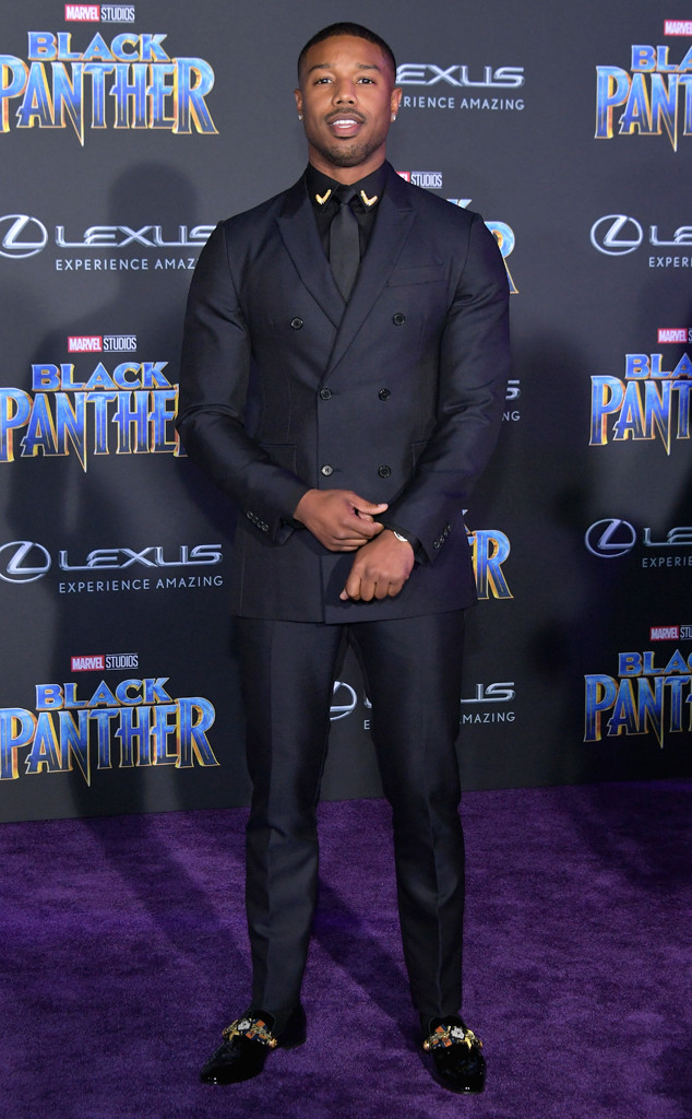 Michael B. Jordan, Black Panther premiere