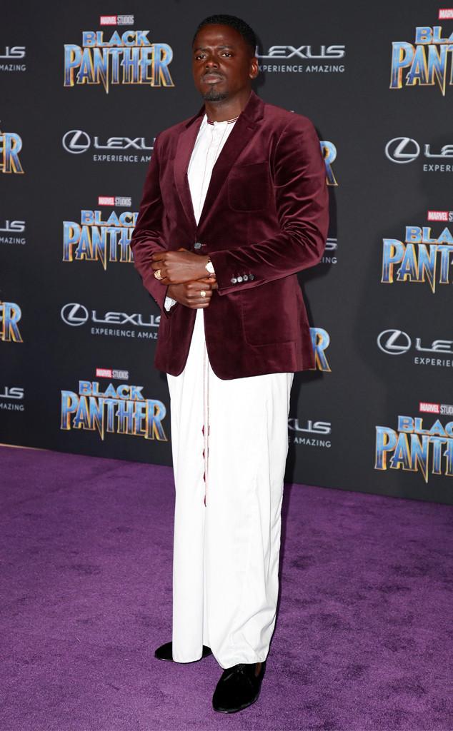 Daniel Kaluuya, Black Panther premiere