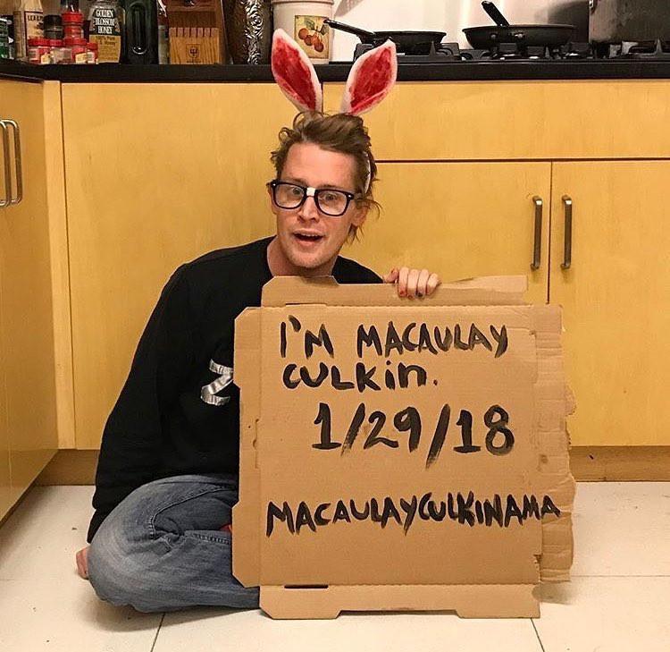Macaulay Culkin, Instagram