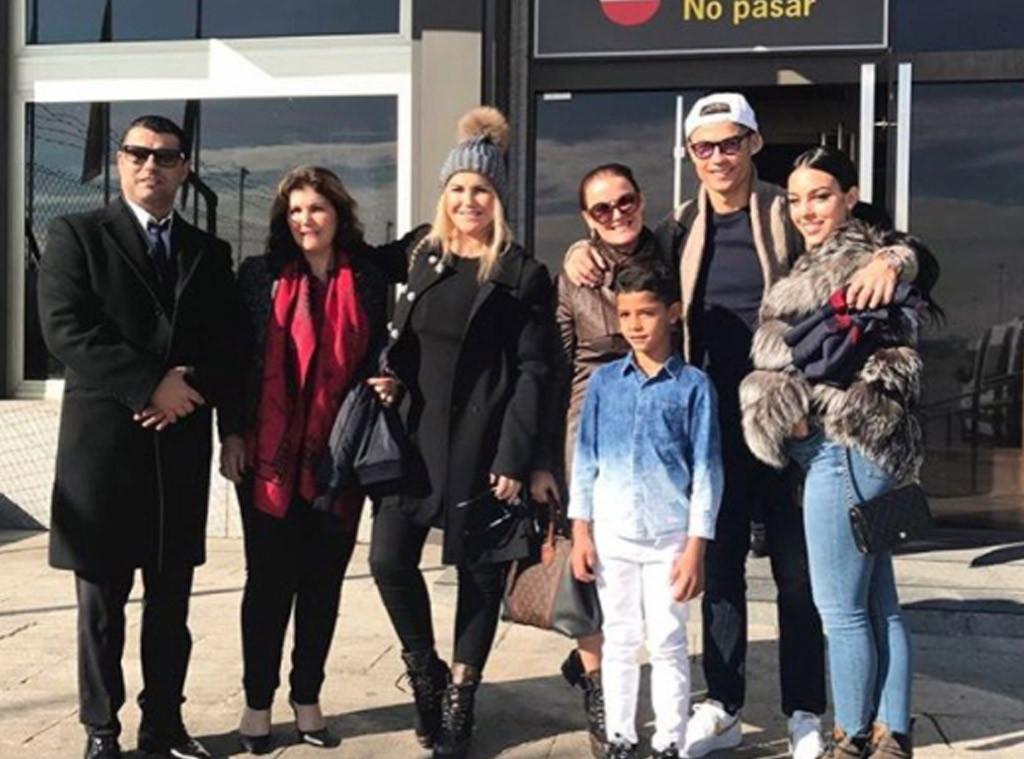 Photos From Cristiano Ronaldo Georgina Rodriguez S Family Album E Online