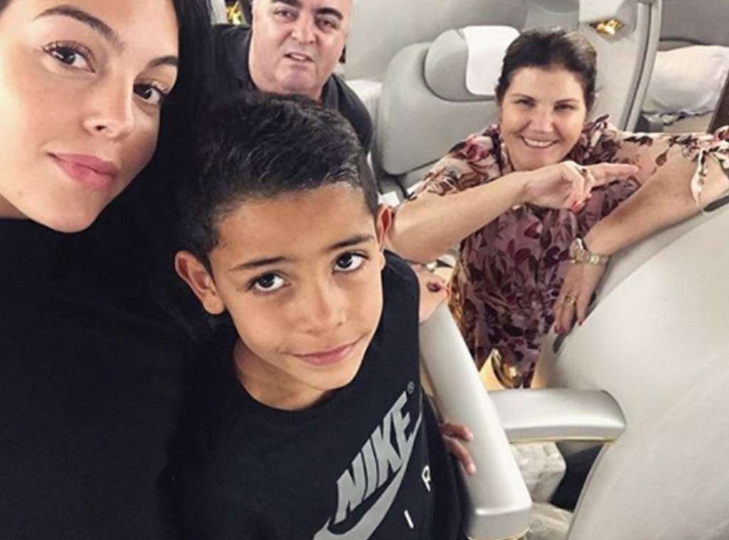 Photos From Cristiano Ronaldo Georgina Rodriguez S Family Album E Online
