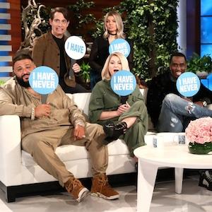 Diddy, DJ Khaled, Meghan Trainor, Charlie Walk, Fergie, The Ellen DeGeneres Show