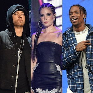 Enimem, Halsey, Travis Scott