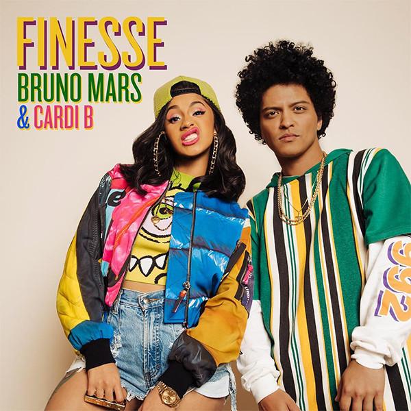 Bruno Mars, Cardi B, Finesse Remix, Single