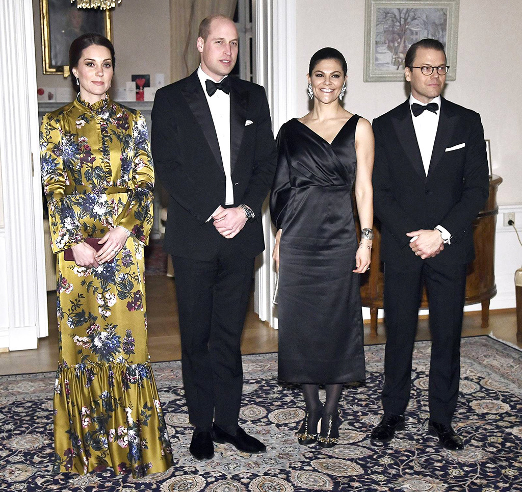 ESC: Prince William, Kate Middleton, Princess Victoria, Prince Daniel