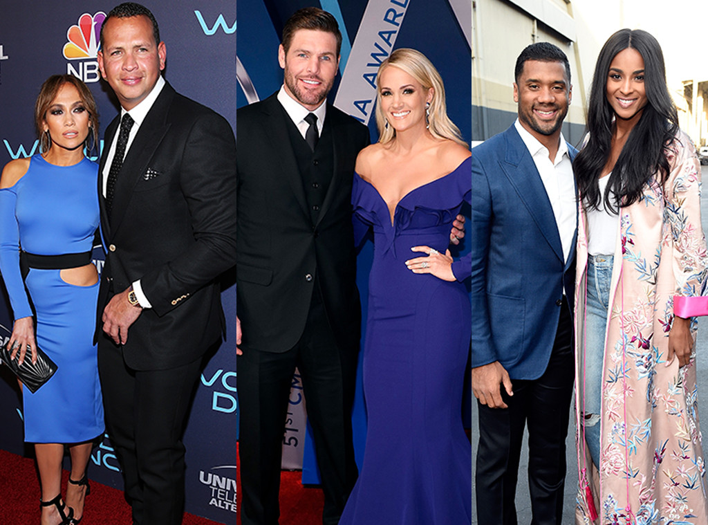 Jennifer Lopez, Alex Rodriguez, Carrie Underwood, Ciara