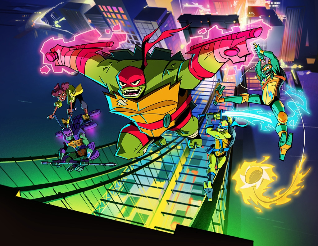 These Aren T The Teenage Mutant Ninja Turtles You Grew Up With E Online
