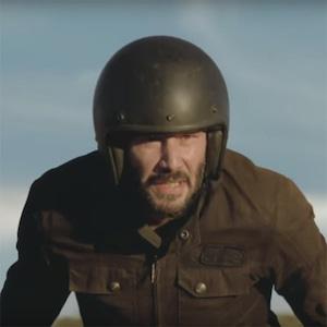 Keanu Reeves, Squarespace, Super Bowl 2018, Ad